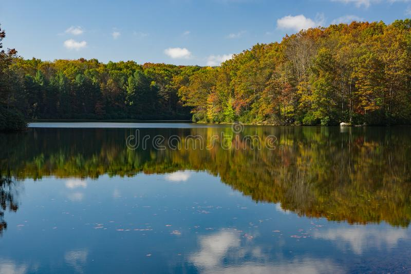 Boley Lake West Virginia royalty free stock images