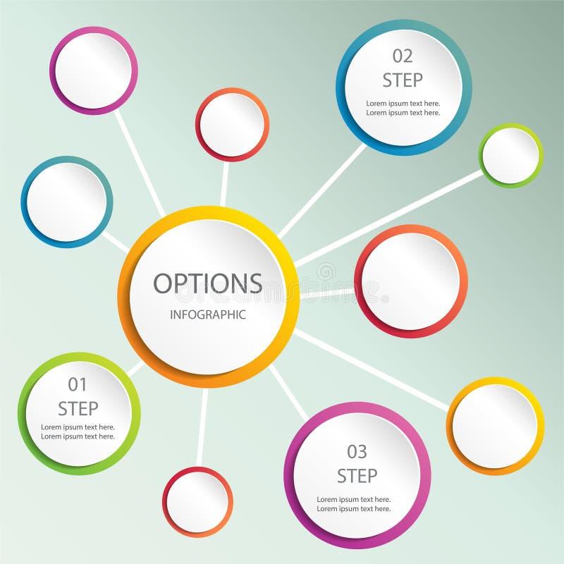 Bolha abstrata do design web, vetor ilustração do vetor