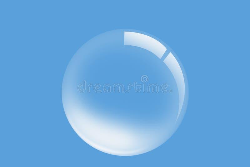 Bolha da água ilustração do vetor