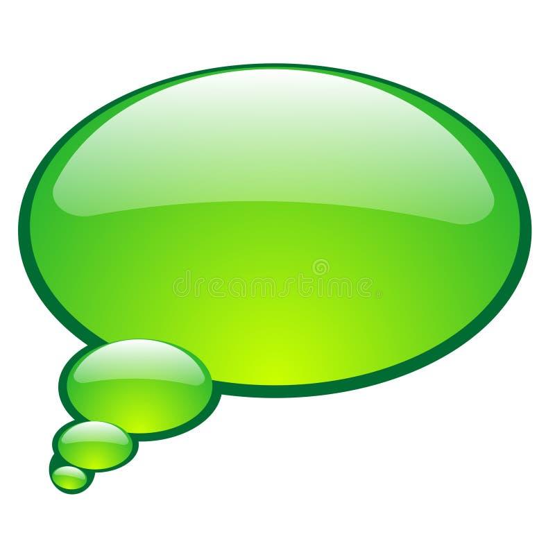 Download Bolha da conversa do vetor ilustração do vetor. Ilustração de ícone - 12801327