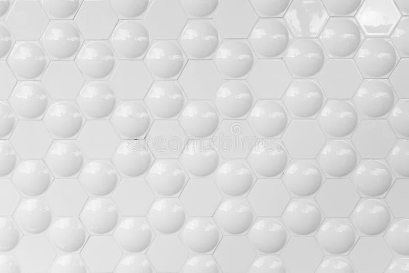 Bolha em um hexágono ilustração do vetor