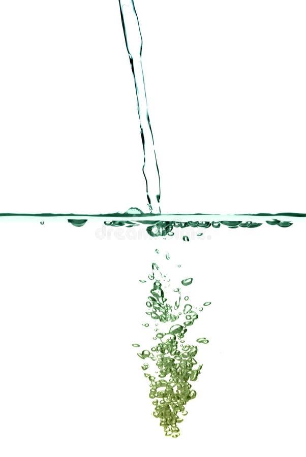 Bolhas abstratas da água imagem de stock royalty free