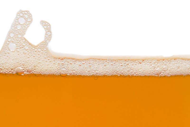 Bolhas da cerveja imagem de stock royalty free