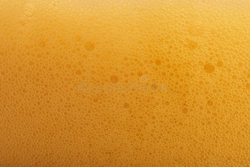 Bolhas da cerveja fotografia de stock royalty free