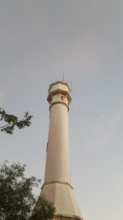 Bolinao Lighthouse royalty free stock photo