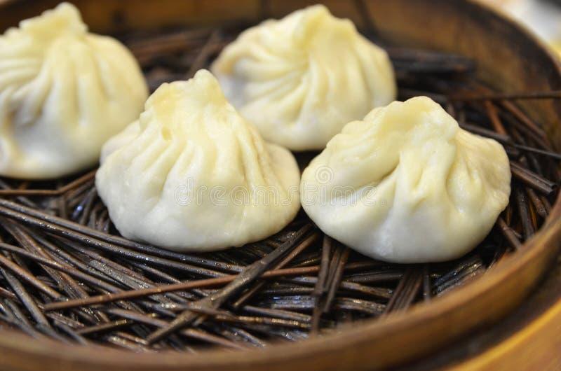 Bolinha de massa tradicional Xiao Long Bao da sopa fotografia de stock royalty free