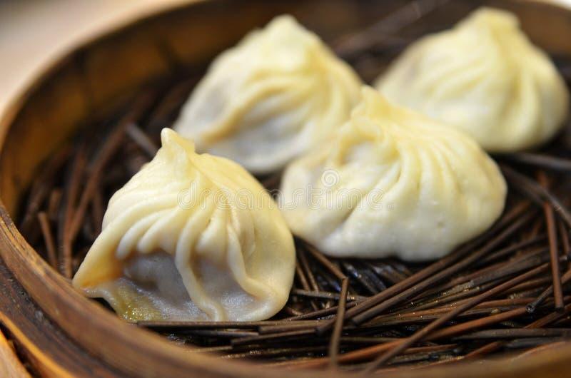 Bolinha de massa tradicional Xiao Long Bao da sopa imagem de stock