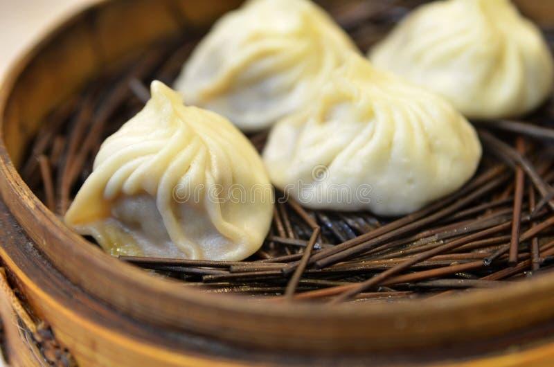 Bolinha de massa tradicional Xiao Long Bao da sopa foto de stock royalty free
