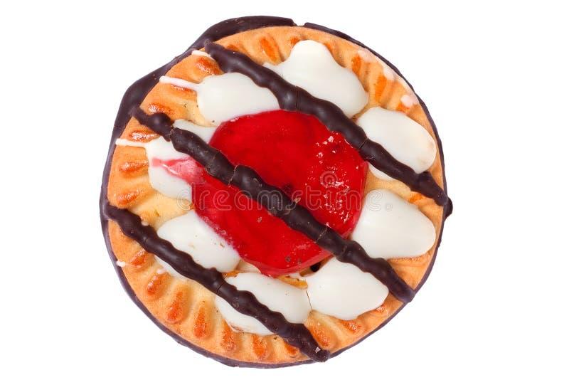 Bolinho delicioso do biscoito imagem de stock royalty free