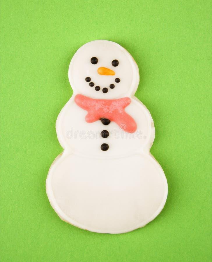 Bolinho do boneco de neve. foto de stock