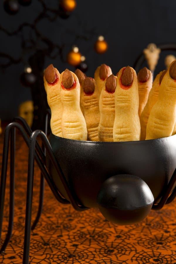 Bolinhos de Halloween fotos de stock royalty free