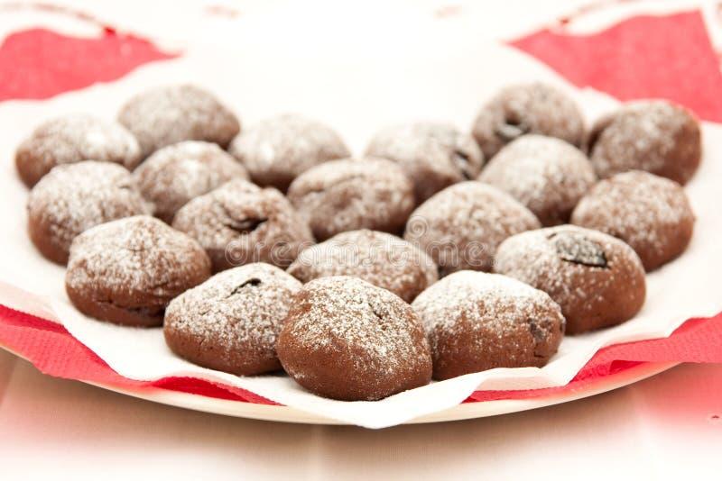 Download Bolinhos do chocolate imagem de stock. Imagem de biscoito - 12808763