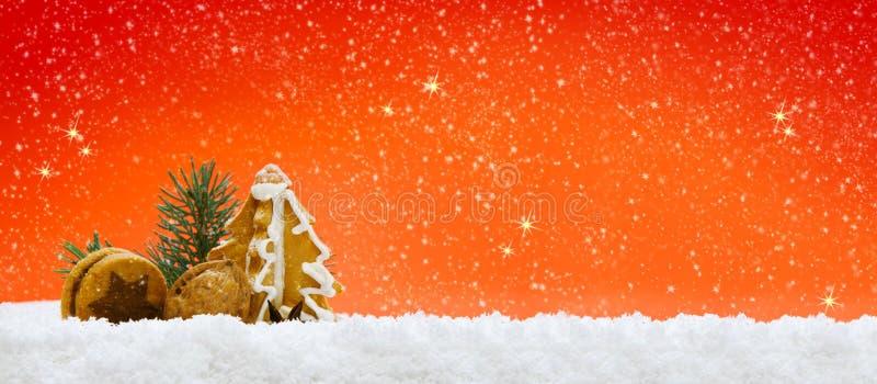 Bolinhos do Natal ilustração royalty free