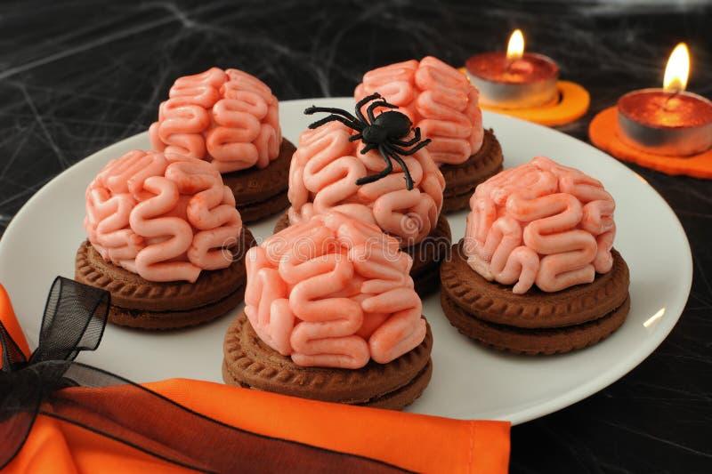 Bolinhos para Halloween imagem de stock royalty free