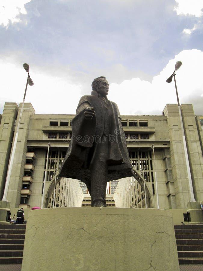 Bolivar civil, Bolivar civil, avenida de Bolivar, Avenida Bolivar, Caracas, Venezuela imágenes de archivo libres de regalías