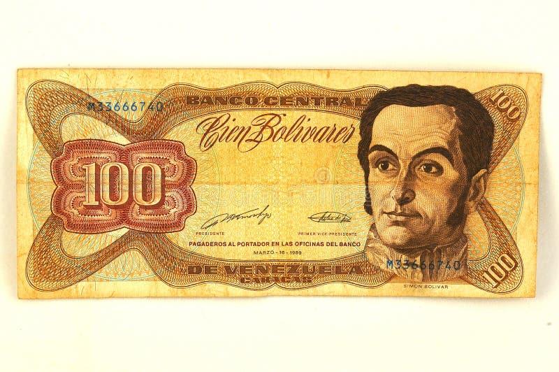 Bolivares stock afbeelding
