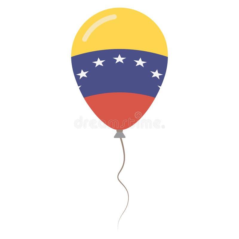 Bolivarian republika Wenezuela krajowi kolory ilustracji