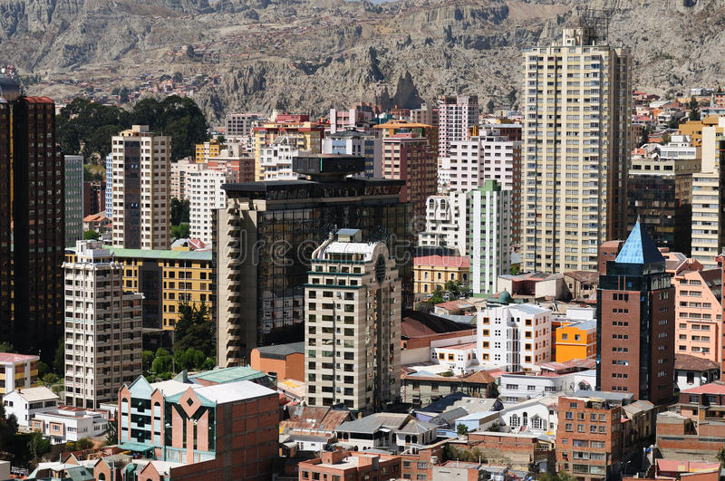 Download Bolivia, La Paz Stock Photography - Image: 24297712