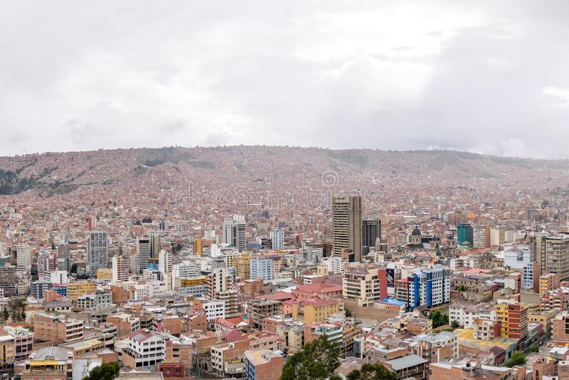 bolivia la Paz zdjęcia stock