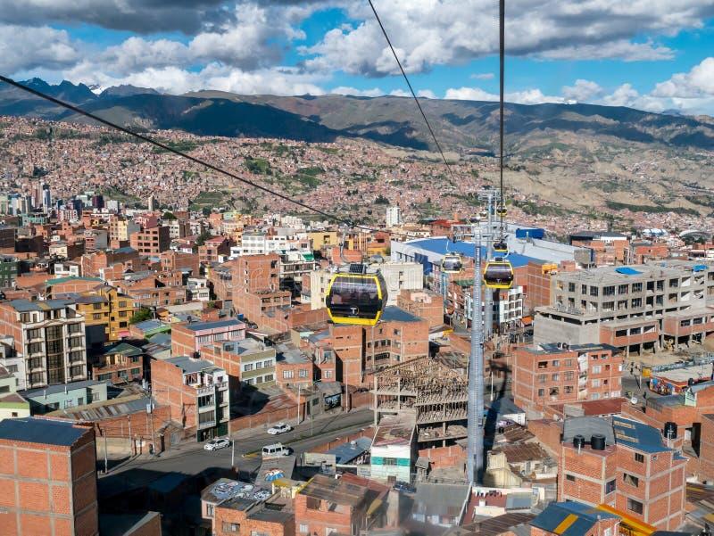 bolivia la paz στοκ εικόνες