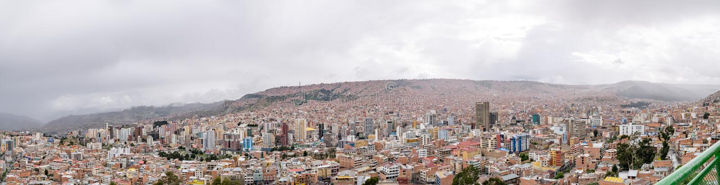 bolivia la paz στοκ φωτογραφία