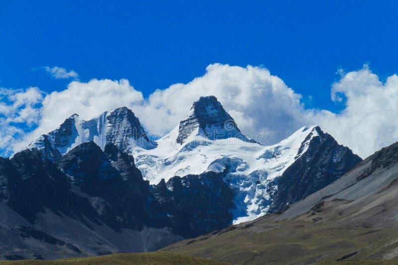 Bolivia los Andes fotos de archivo libres de regalías