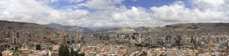 bolivia los angeles Paz fotografia stock
