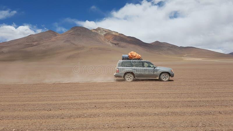 Salar de Uyuni Tour. Bolivia salar de Uyuni Highlands stock photo