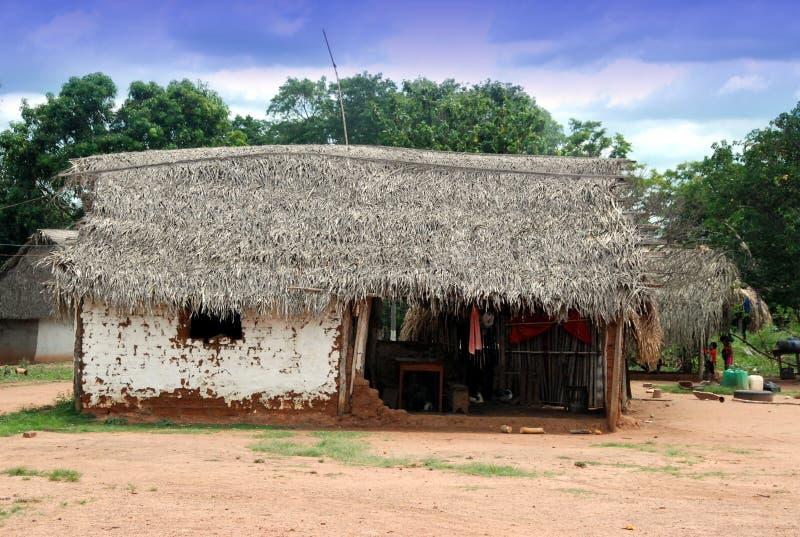 Boliviaans dorp royalty-vrije stock foto's