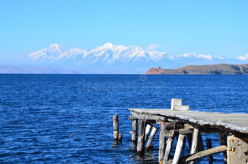 Boliviaans landschap royalty-vrije stock afbeelding