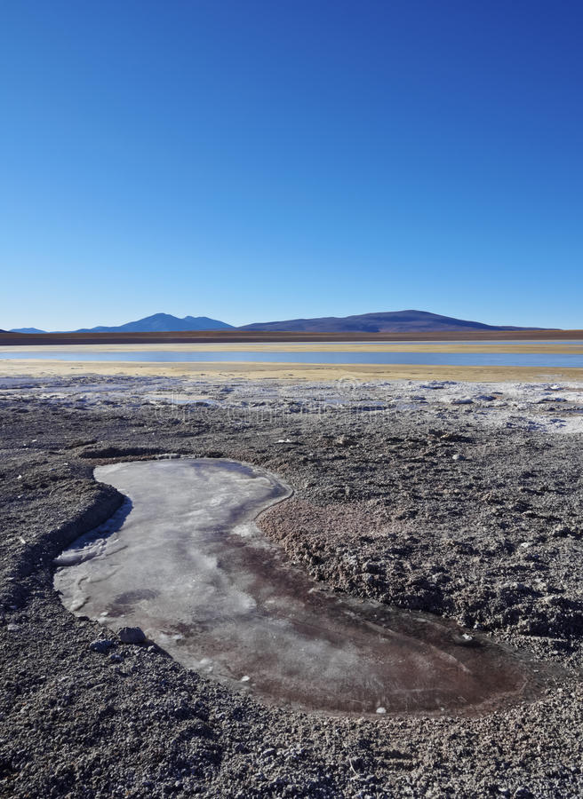 Bolivian Landscape royalty free stock image