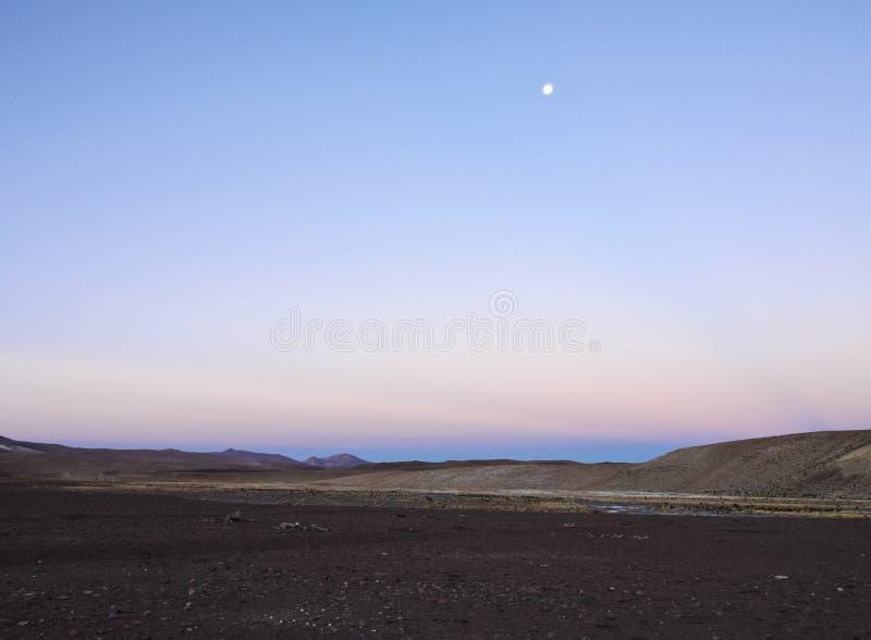 Bolivian Landscape royalty free stock photo