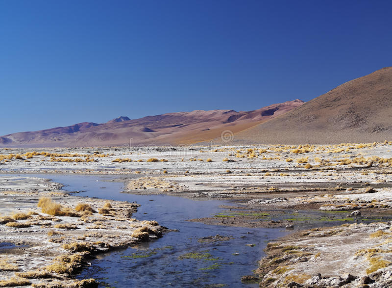 Bolivian Landscape stock image