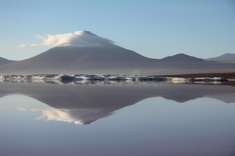 Download Bolivian volcano stock photo. Image of peaceful, mirror - 28882706