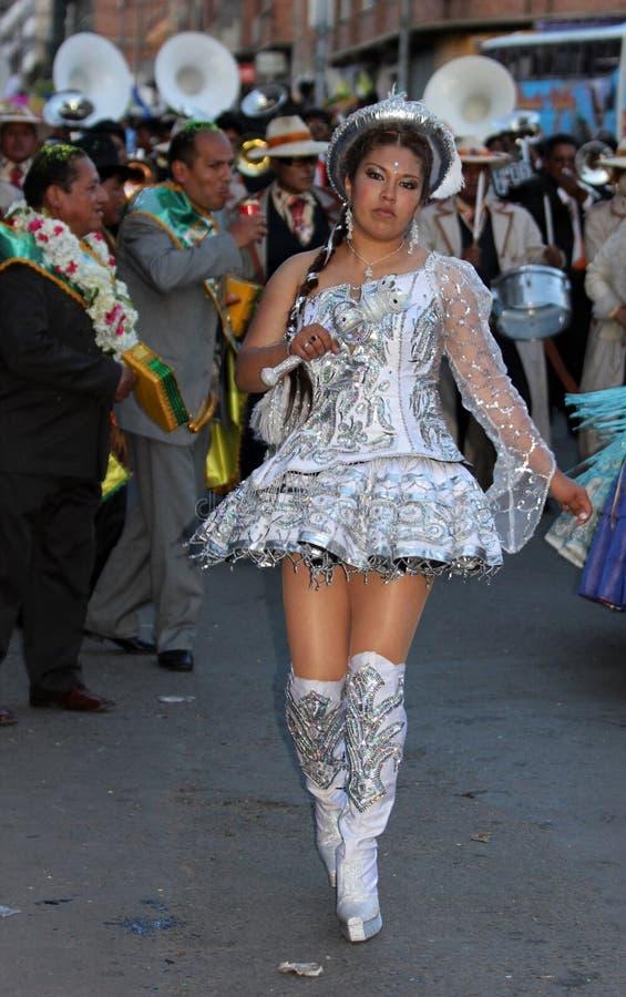 Bolivianische Fiesta lizenzfreies stockfoto