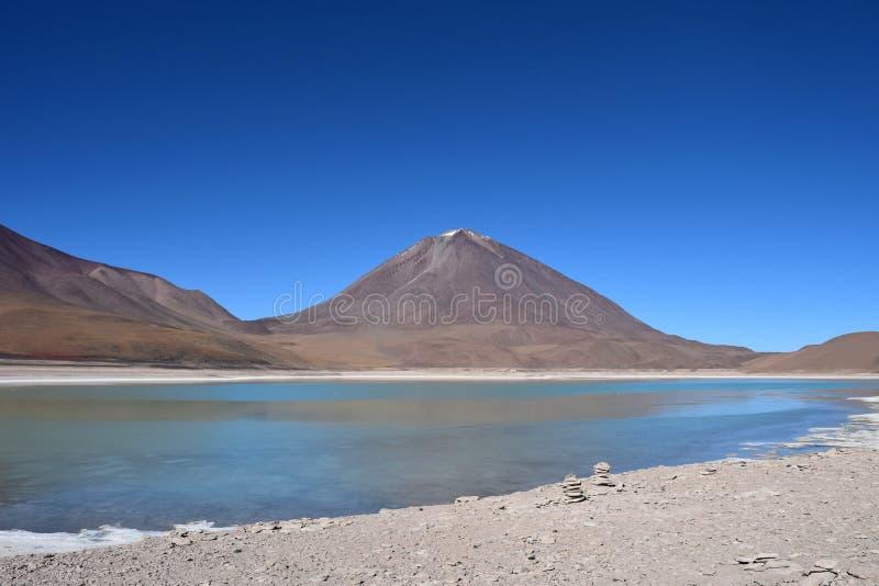 Boliwijski altiplano zdjęcia stock