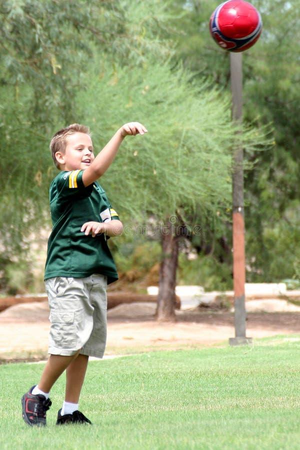 Download Boll arkivfoto. Bild av kast, barn, manlig, fotboll, sport - 1235080