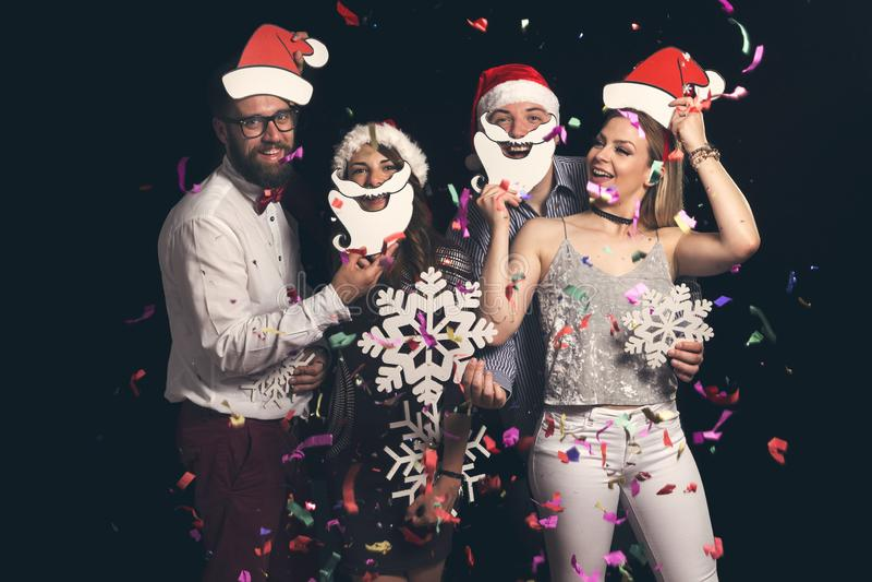 Boll för dräkt för ` s för nytt år fotografering för bildbyråer