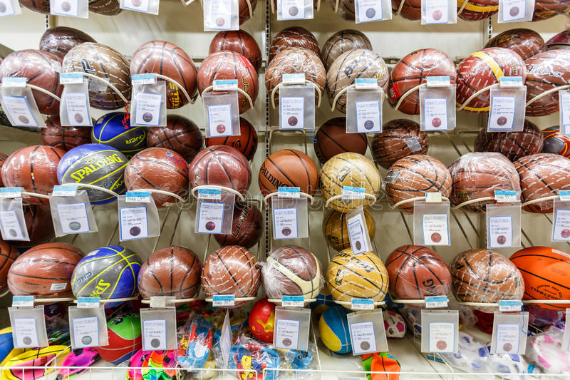 Boll för objekt för detaljhandel för Kina hangzhou wal-marknad supermarket fotografering för bildbyråer