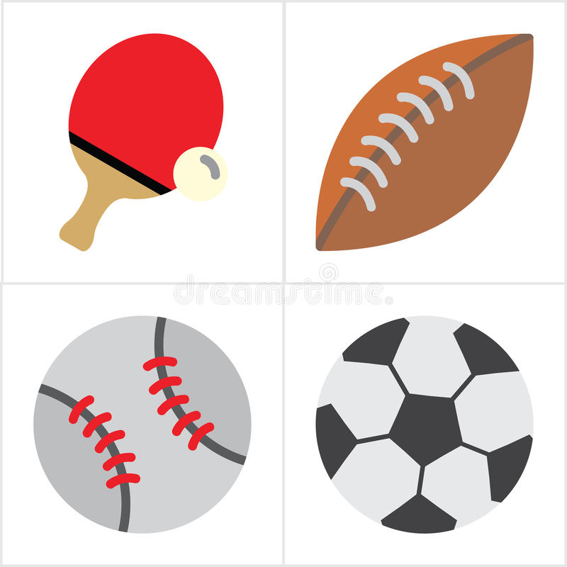 Boll och sport arkivbilder