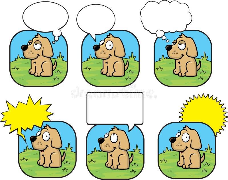 Bolla del cane illustrazione vettoriale