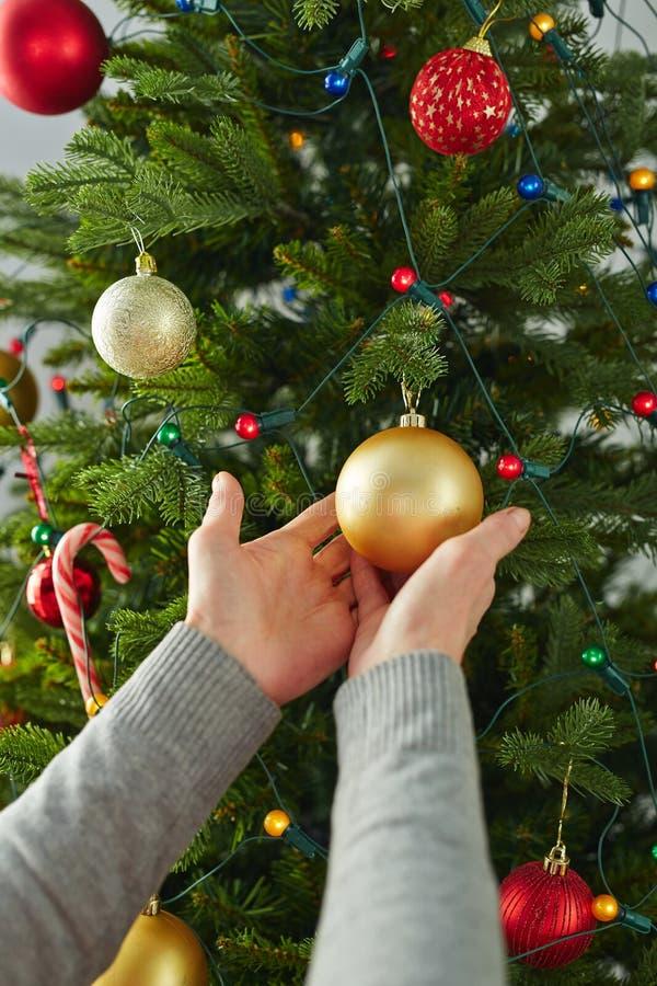 Bolla di Natale fotografia stock libera da diritti