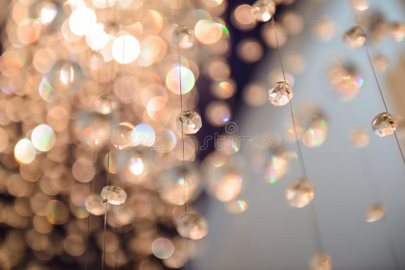 Bollar är exponeringsglas fasetterat hänga royaltyfria foton