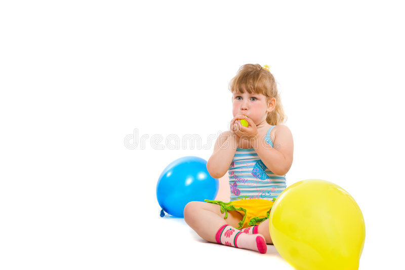 bollar inflate arkivfoto