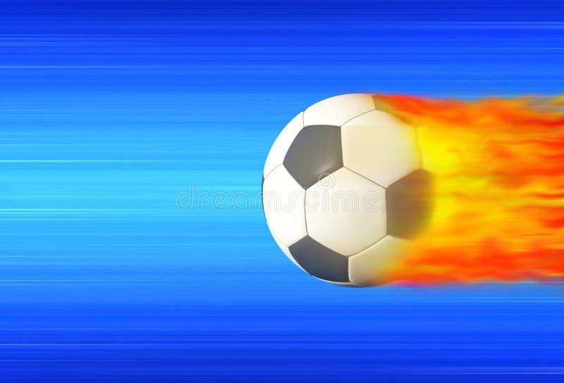 bollfotboll vektor illustrationer