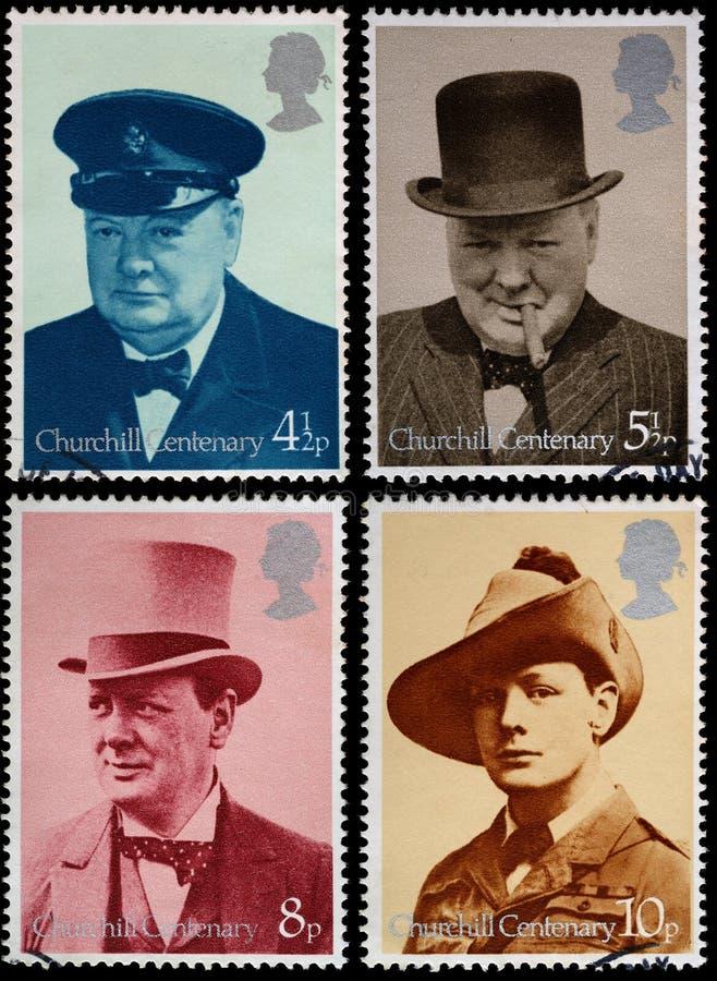Bolli del Winston Churchill fotografia stock