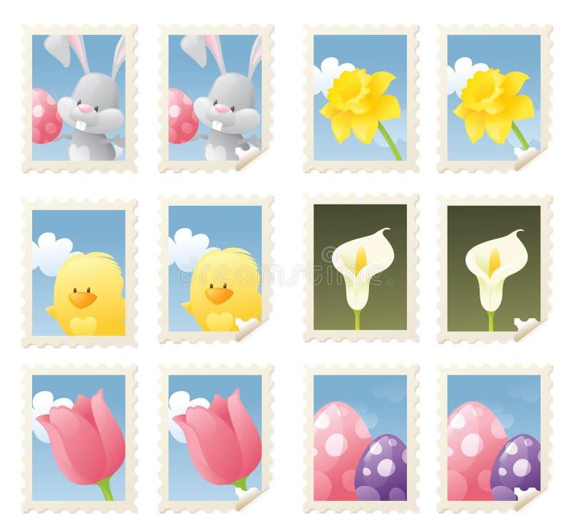 Bolli di Pasqua royalty illustrazione gratis