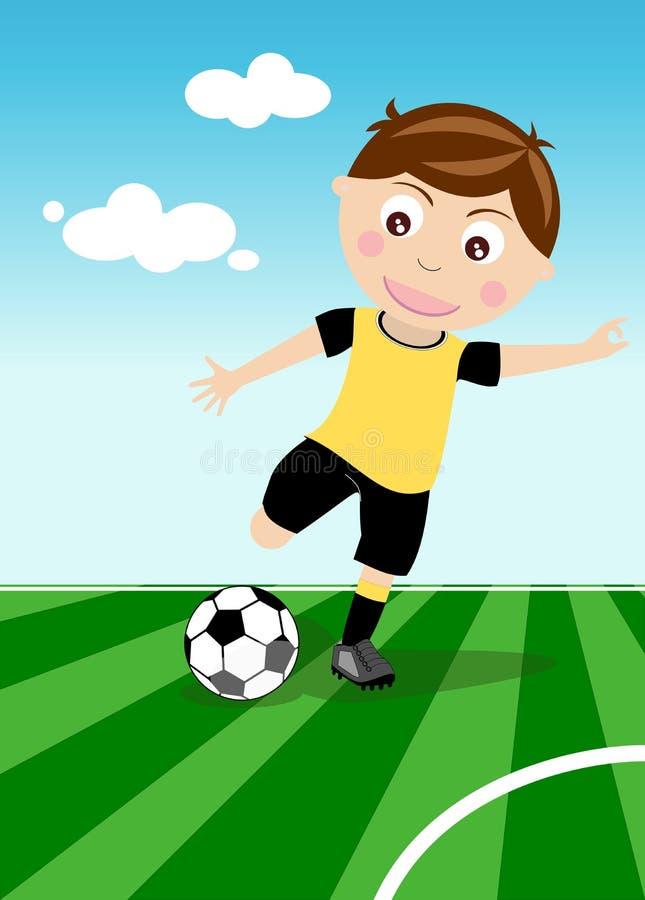 bollkallen stöd fotboll vektor illustrationer
