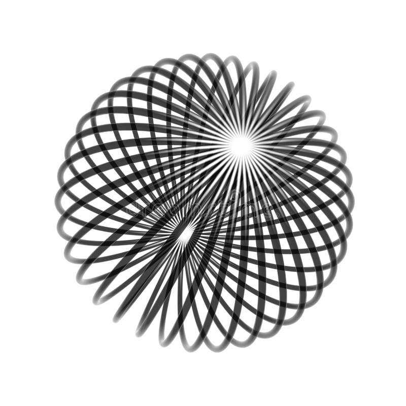 bollkaostråd vektor illustrationer