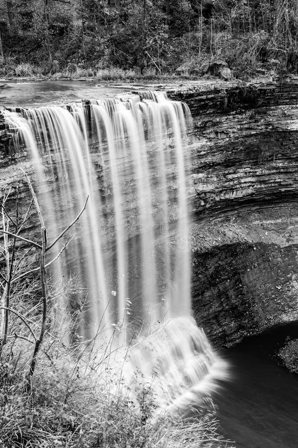 Bollnedgångar Ontario, Kanada royaltyfri foto